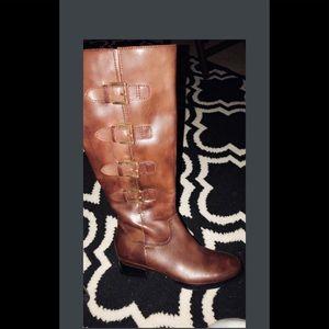 ECCO brand A knee-length  riding boot